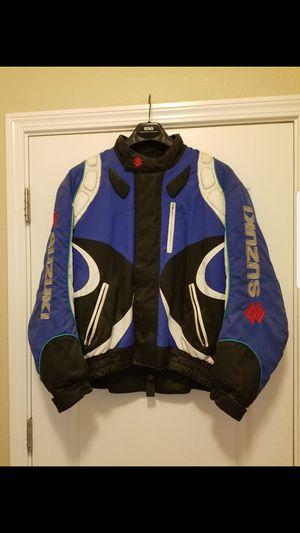 Suzuki motorcycle jacket for Sale in Apopka, FL