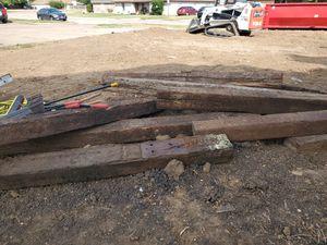 10 brand new rail road ties for Sale in Saginaw, TX