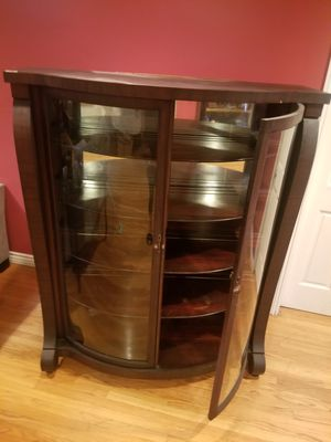 Antique Curio Cabinet Union Furniture Co. Jamestown NY for Sale in Los Angeles, CA