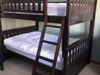 Like New Double Full Bunk Beds for Sale in Sarver,  PA
