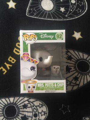 Disney Beauty and the Beast Mrs. Potts & Chip Funko Pop 92 VAULTED for Sale in Lutz, FL