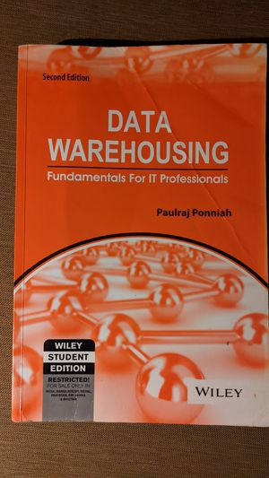 Data Warehousing IT text book for Sale in Phillips Ranch, CA