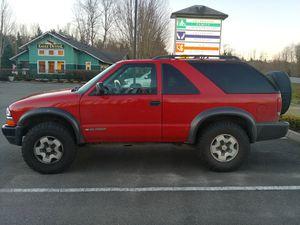 2001 Chevy Blazer ZR2 for Sale in Granite Falls, WA
