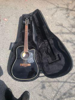 Plug In Acoustic Guitar (Randy Jackson) for Sale in Santa Cruz, CA