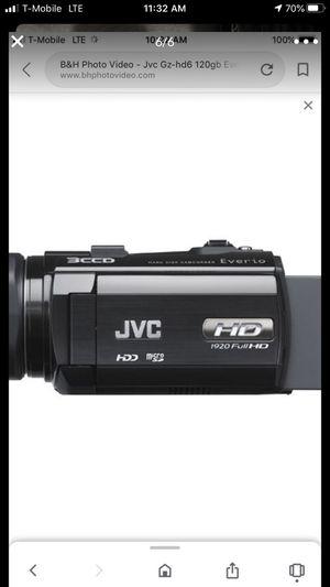 JVC full HD camera 120 GB hard drive for Sale in Lynnwood, WA