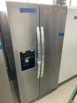 Refrigerator side by side and electric stove Whirlpool and dishwasher new for Sale in Miramar, FL