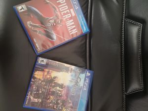 Ps4 Games spiderman and kingdom hearts great condition for Sale in City of Industry, CA