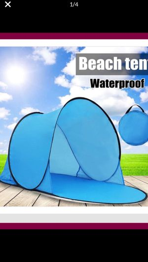 Easy pop up outdoor portable tent Open Beach May folding $15. Brand New Size140-70-55CM. (for little kids 1-2 ) for Sale in San Francisco, CA