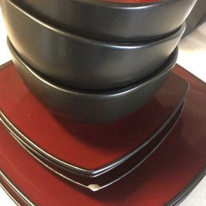 Red/black Dinnerware for Sale in Hillsboro, OR