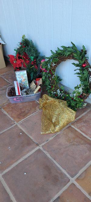 CHRISTMAS STUFF for Sale in Etiwanda, CA