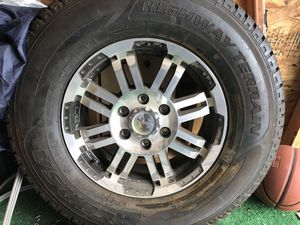 corsa tire lt245/75r16 highway terrain NEVER USED for Sale in San Antonio, TX