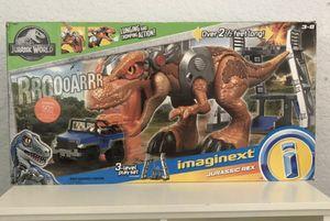 Imaginext Jurassic World Jurassic Rex $50 for Sale in Davie, FL