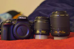 Nikon D5300 DSLR with 2 Lenses. for Sale in Palmdale, CA