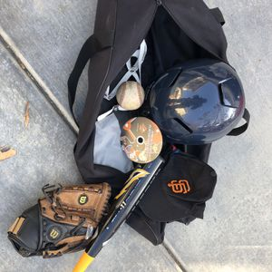 Baseball Equipment And Bag for Sale in Byron, CA
