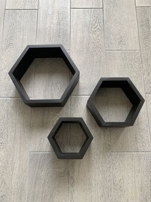Black Honeycomb Floating Shelves for Sale in Chino Hills, CA