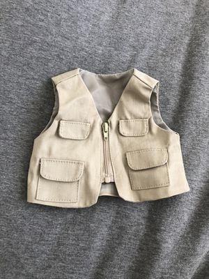 american girl doll vest, 18 inch doll for Sale in Oro Valley, AZ