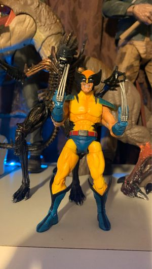 marvel legends wolverine for Sale in Perris, CA