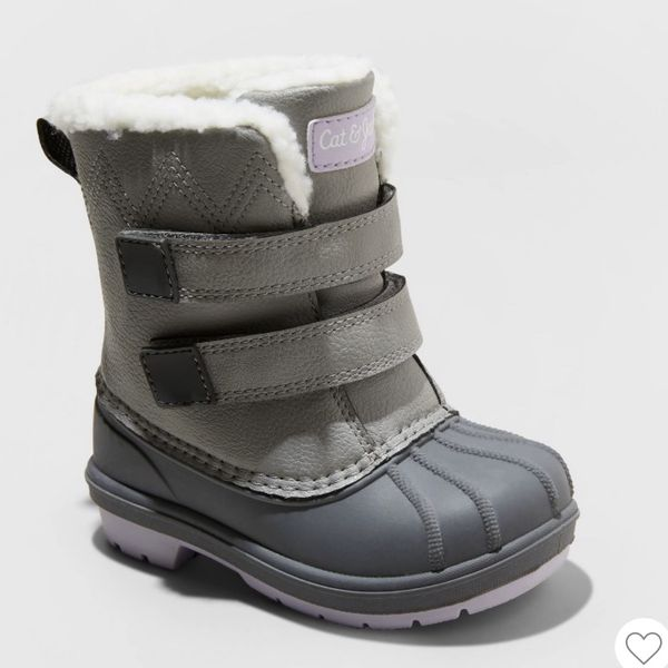Cat & Jack Toddler Girls Winter Boots Size 8