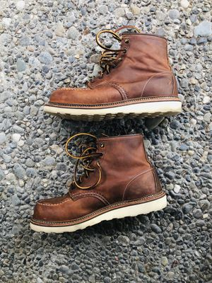 Red wings boots 1907 size 9.5 for Sale in Seattle, WA