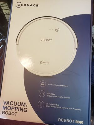 Ecovacs vacuum mopping robot deebot 665 for Sale in Brockton, MA