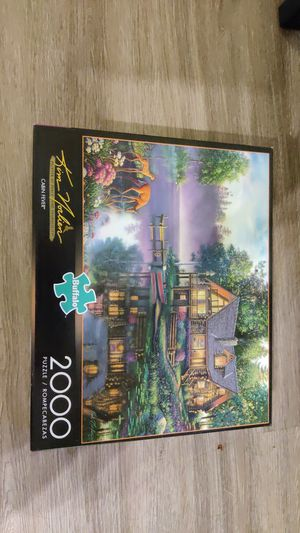Buffalo games 2000 piece jigsaw puzzle for Sale in Seattle, WA
