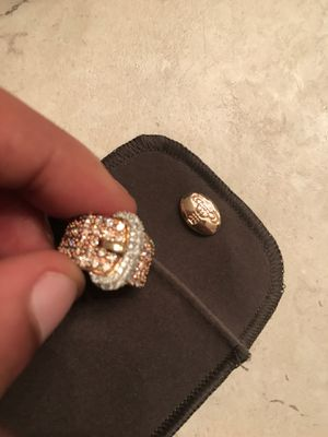 Custom made 1 of 1 diamond gold belt ring for Sale in Columbia, SC