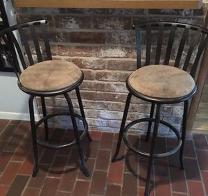 Two bar stools. Must go. Moving. Northhouston for Sale in Houston, TX