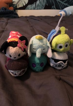 Disney Tsum Tsums teddy bears for Sale in Long Beach, CA