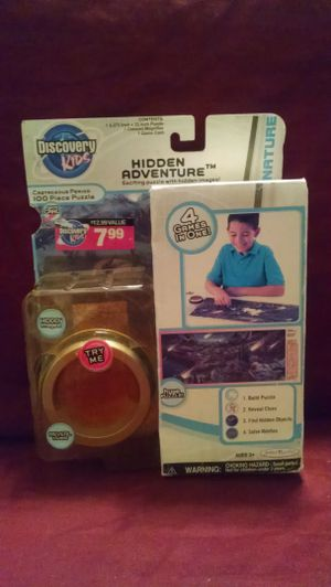 Discovery Kids Hidden Adventure: puzzle with hidden images for Sale in Charlotte, NC