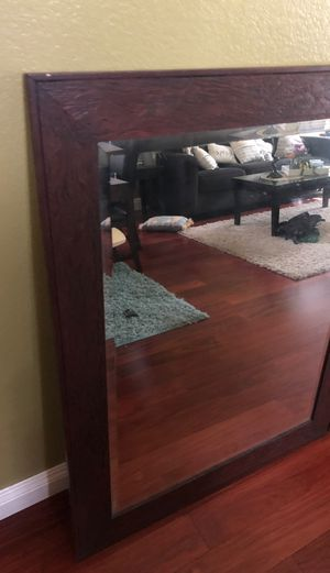 Mirror size 38x48 inches, wall mount clip at the back attached for Sale in Corona, CA