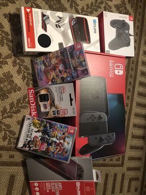 Nintendo switch bundle brand new,no trades for Sale in Las Vegas, NV
