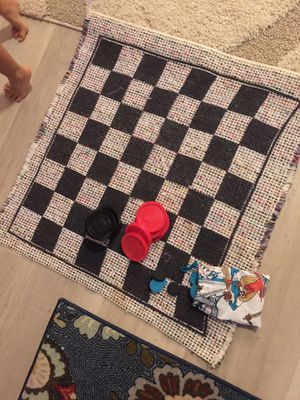 Travel checkers board game for Sale in Alafaya, FL