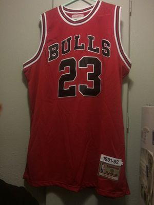 Jordan Authentic Throwback Jersey for Sale in Denver, CO