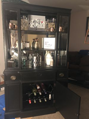 Cabinet -Can be used as a bar display for Sale in North Tonawanda, NY