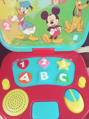 Mickey toy laptop for Sale in Huntington Park, CA
