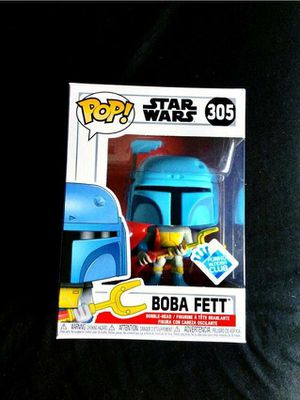 Star Wars animated boba fett pop for Sale in Downey, CA