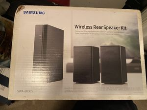 Samsung Wireless Rear Speakers SWA8000 for Sale in Bethesda, MD