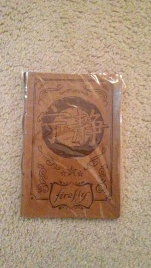 Firefly Serenity Journal for Sale in Westerville, OH