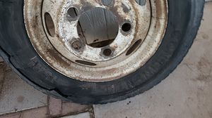 2 motorhome tires and a rim for Sale in Mesa, AZ