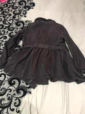 Girls brown raincoat size XL for Sale in Bristow, VA
