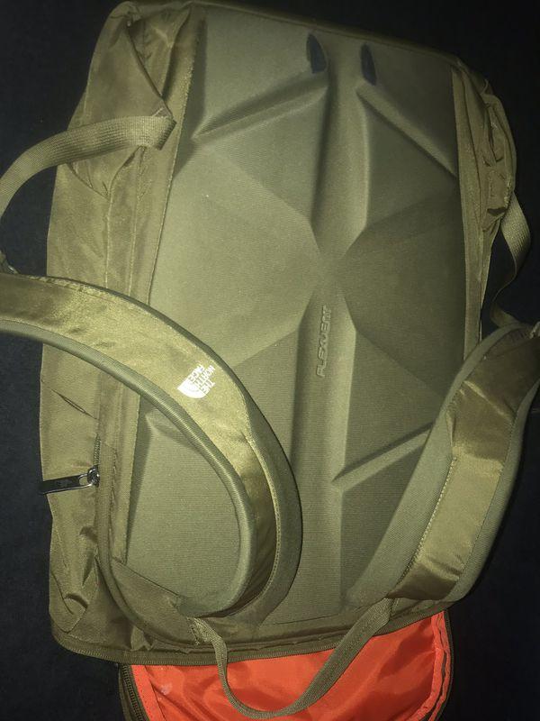 North face book bag
