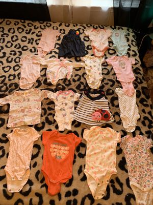 NEW BORN BABY CLOTHES for Sale in El Paso, TX