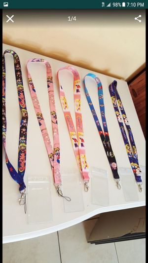 Sailor moon lanyard $5 each for Sale in Phoenix, AZ