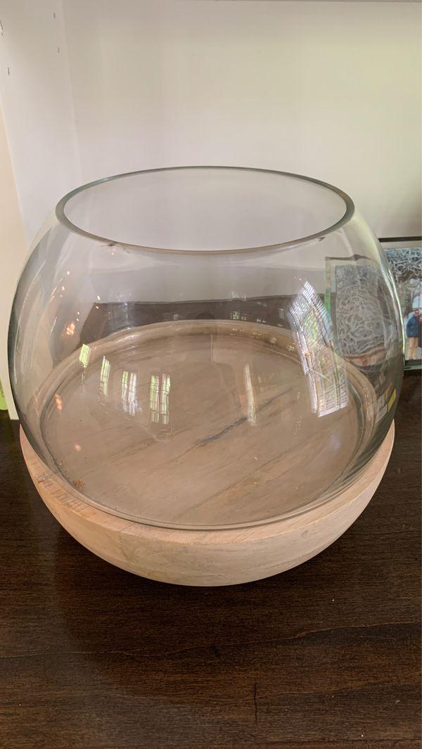 Large terrarium pot