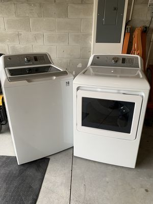 GE Top Load Washer & Dryer Set for Sale in Winter Haven, FL