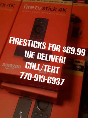 FIRESTICK Television 4k for Sale in Lawrenceville, GA