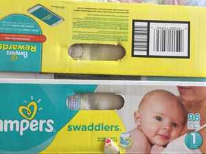 PAMPERS SIZE 1 96 ct for Sale in Niwot, CO