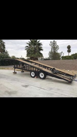 2015 2 car trailer/Hauler for Sale in Henderson, NV