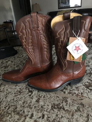 Still Available - Steel toe cowboy boots for Sale in Luling, LA