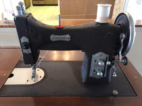 Sewing Machine Vintage Domestic Super Clean